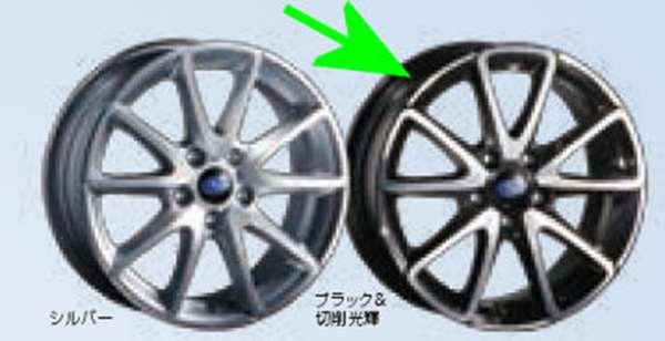 『レヴォーグ』 純正 VM4 VMG SAA 17インチアルミホイール 4輪分セット ブラック&切削光輝 パーツ スバル純正部品 安心の純正品 オプション アクセサリー 用品