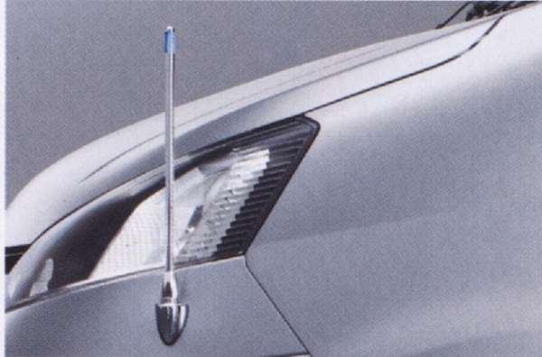 『デリカD:3』 純正 BM20 BVM20 コーナーポール(固定式) パーツ 三菱純正部品 フェンダーポール フェンダーライト 障害物 DELICA オプション アクセサリー 用品