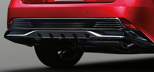 『プリウス』 純正 ZVW51 ZVW55 リヤロアバンパーカバー パーツ トヨタ純正部品 オプション アクセサリー 用品
