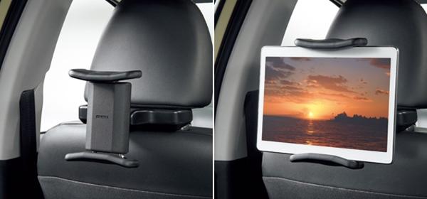 『プリウス』 純正 ZVW51 ZVW55 後席タブレットホルダー パーツ トヨタ純正部品 オプション アクセサリー 用品
