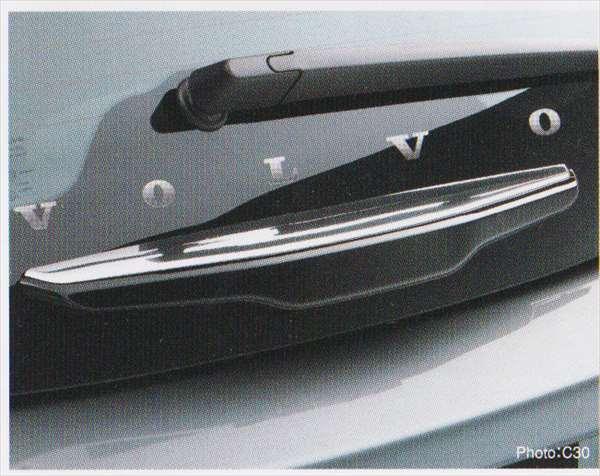 C30 S40 V50 パーツ クローム・リアハンドルカバー ボルボ純正部品 MB4204S MB5244 オプション アクセサリー 用品 純正 ステアリング