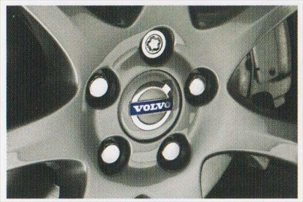 C30 S40 V50 パーツ ロックホイールナット(4個入り) ボルボ純正部品 MB4204S MB5244 オプション アクセサリー 用品 純正