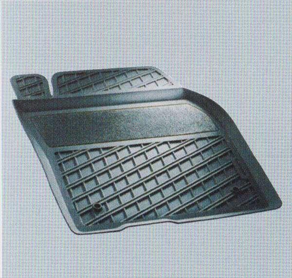 C30 S40 V50 パーツ 天然ゴム製フロアトレーセット ボルボ純正部品 MB4204S MB5244 オプション アクセサリー 用品 純正 トレイ