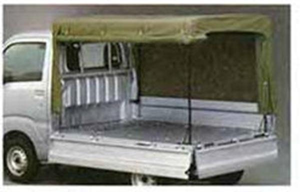 『ハイゼット トラック』 純正 S500P S510P 幌(フロア立三方開) パーツ ダイハツ純正部品 ホロ トラック幌 オプション アクセサリー 用品