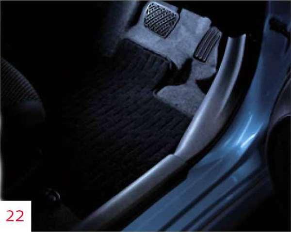 『ノート』 純正 HE12 E12 NE12 フットイルミネーション SRSカーテンエアバックシステム付車用 パーツ 日産純正部品 照明 明かり ライト オプション アクセサリー 用品