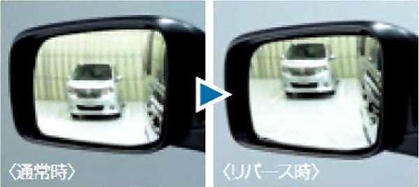 『ノート』 純正 HE12 E12 NE12 リバース連動下向きドアミラー(助手席側) パーツ 日産純正部品 オプション アクセサリー 用品