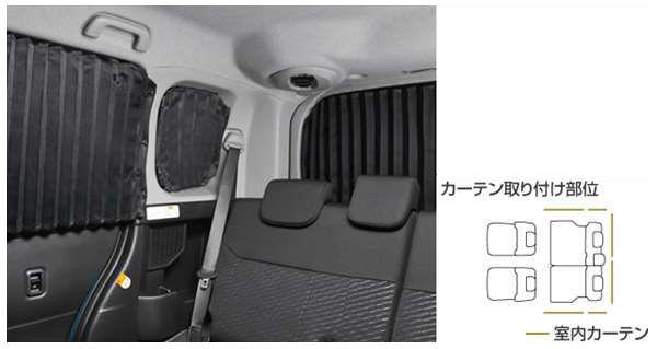 『タンク』 純正 M900A M910A 室内カーテン(1台分) パーツ トヨタ純正部品 目隠し 日除け スモーク オプション アクセサリー 用品