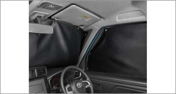 『タンク』 純正 M900A M910A プライバシーシェード(フロント) パーツ トヨタ純正部品 日除け サンシェード サンシェイド オプション アクセサリー 用品
