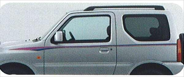 『ジムニー』 純正 JB23 ストライプテープ(コメット) パーツ スズキ純正部品 ステッカー シール ワンポイント jimny オプション アクセサリー 用品