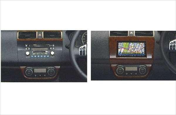 『スイフト』 純正 ZC11 ZC21 ZC31 インパネガーニッシュ パーツ スズキ純正部品 ウッド 木目 内装パネル 飾り ドレスアップ 内装パネル 飾り ドレスアップ swift オプション アクセサリー 用品