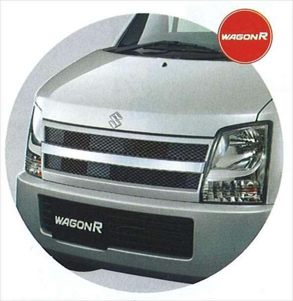 『ワゴンR』 純正 MH21 フロントグリル パーツ スズキ純正部品 飾り カスタム エアロ wagonr オプション アクセサリー 用品