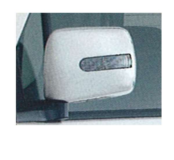 『ワゴンR』 純正 MH21 ドアミラーカバー ターンランプ付(サイドマーカーランプ付) パーツ スズキ純正部品 サイドミラーカバー カスタム wagonr オプション アクセサリー 用品