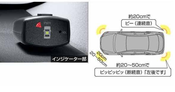 『プレミオ』 純正 ZRT261 ZRT260 NZT260 ZRT265 コーナーセンサー(ボイス4センサー) ボイスセンサーのみ ※センサーキットは別売 パーツ トヨタ純正部品 危険通知 接触防止 障害物 オプション アクセサリー 用品