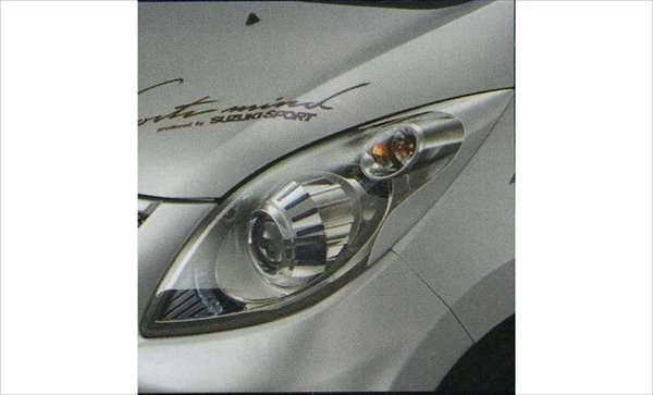『セルボ』 純正 HG21S ヘッドランプガーニッシュ(スズキスポーツ) パーツ スズキ純正部品 cervo オプション アクセサリー 用品