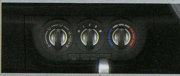 『セルボ』 純正 HG21S エアコンスイッチノブベゼル(マニュアルエアコン用) パーツ スズキ純正部品 cervo オプション アクセサリー 用品