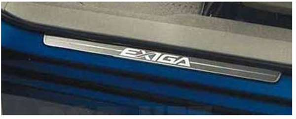 『エクシーガ』 純正 YA4 YA5 YA9 サイドシルプレートセット フロントのみ2枚セット パーツ スバル純正部品 ステップ 保護 プレート exiga オプション アクセサリー 用品