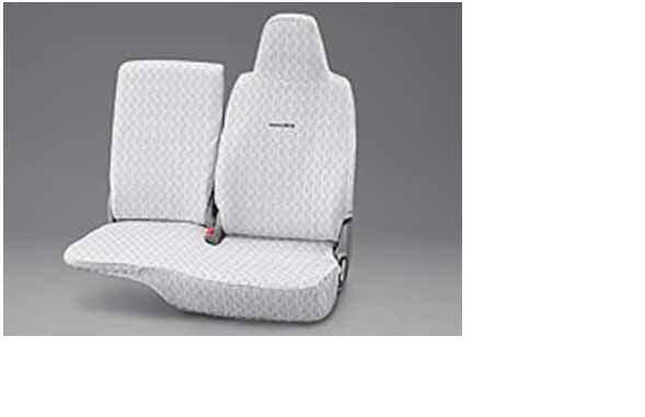 『レジアスエース』 純正 TRH211 TRH216 フルシートカバー スタンダードタイプ(フロントシートのみ) パーツ トヨタ純正部品 座席カバー 汚れ シート保護 regiusace オプション アクセサリー 用品