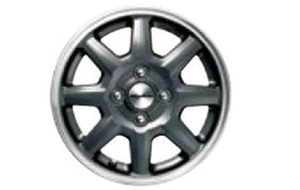 『NBOX SLASH』 純正 JF1 14インチアルミホイール MS-024(ブラックパール塗装) ※1本につき パーツ ホンダ純正部品 安心の純正品 オプション アクセサリー 用品