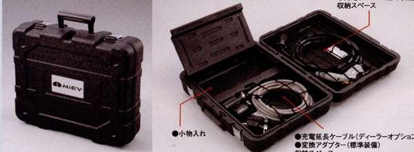 『アイ』 純正 HA1W ケーブル収納アタッシュケース パーツ 三菱純正部品 オプション アクセサリー 用品