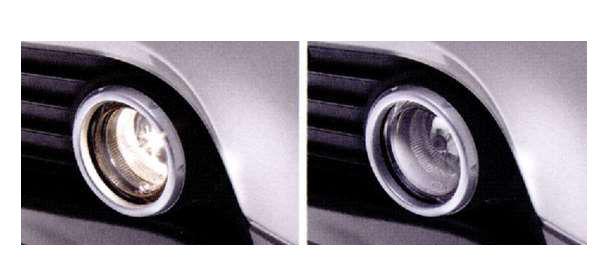 『アイ』 純正 HA1W ハロゲンフォグランプ クリアランプ+ホワイトバルブ パーツ 三菱純正部品 フォグライト 補助灯 霧灯電球 照明 ライト オプション アクセサリー 用品