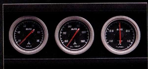 『アイ』 純正 HA1W 3連スポーツメーターキット パーツ 三菱純正部品 オプション アクセサリー 用品