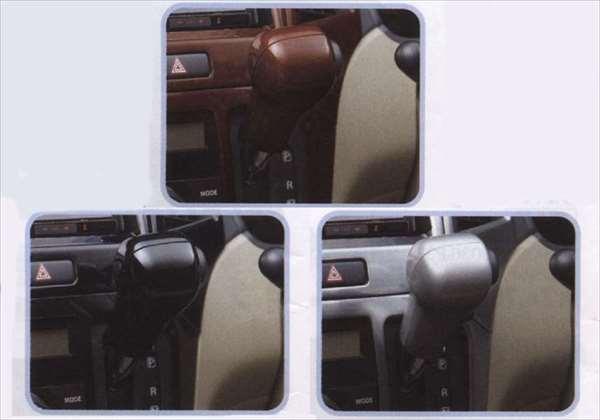 『パレット』 純正 MK21S インパネシフトノブカバー パーツ スズキ純正部品 ウッド 木目 palette オプション アクセサリー 用品