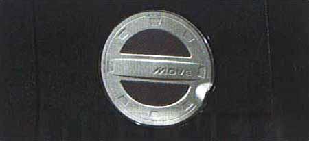 『ムーヴ』 純正 L175S フューエルリッドガーニッシュ パーツ ダイハツ純正部品 move オプション アクセサリー 用品