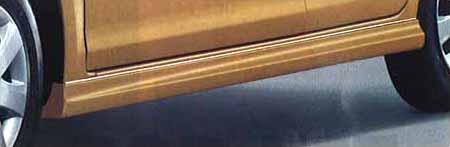 『ムーヴ』 純正 L175S サイドストーンガードRH(車体色対応) パーツ ダイハツ純正部品 サイドスポイラー カスタム マッドガード move オプション アクセサリー 用品