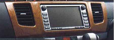 『ムーヴ』 純正 L175S ブラウンウッド調インパネアッパーパネル パーツ ダイハツ純正部品 内装パネル ドレスアップ move オプション アクセサリー 用品