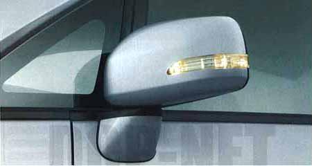『ムーヴ』 純正 L175S ターンランプ付電動格納式ドアミラーセット(車体色対応) パーツ ダイハツ純正部品 ドアミラーカバー サイドミラーカバー カスタム move オプション アクセサリー 用品