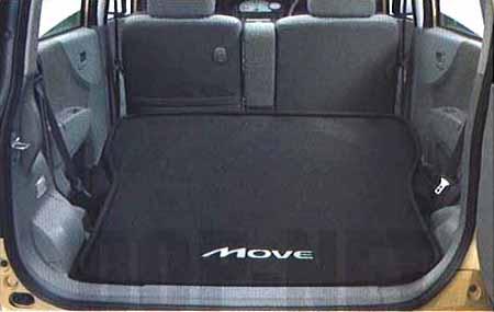 『ムーヴ』 純正 L175S ラゲージソフトトレイ(2名乗車時用) パーツ ダイハツ純正部品 ラゲッジマット トランクトレイ 滑り止め move オプション アクセサリー 用品