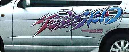 『テリオス』 純正 J131 ストライプ(バックストリート) パーツ ダイハツ純正部品 メッキ terios オプション アクセサリー 用品