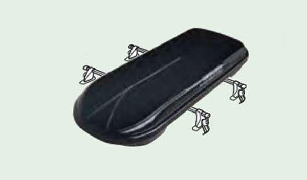 『ステップワゴン』 純正 RP5 RP3 RP4 RP1 RP2 ルーフボックス(ブラック/ロック付) パーツ ホンダ純正部品 オプション アクセサリー 用品