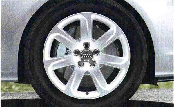 A7 パーツ 7 アームデザインアルミホイール(8.5J×18)ウインタータイヤ用 「1本からの販売」 アウディ純正部品 4GCGWC オプション アクセサリー 用品 純正 送料無料