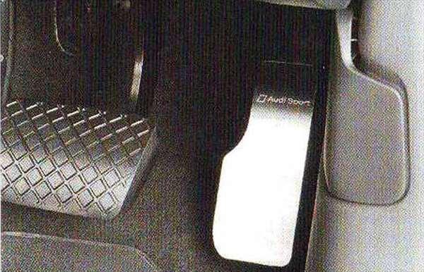A7 パーツ アクセルペダルカバー(右ハンドル車用) アウディ純正部品 4GCGWC オプション アクセサリー 用品 純正 ステアリング
