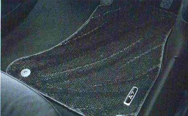 A7 パーツ フロアマット(コンフォート) ブラック/RHD アウディ純正部品 4GCGWC オプション アクセサリー 用品 純正 マット 送料無料
