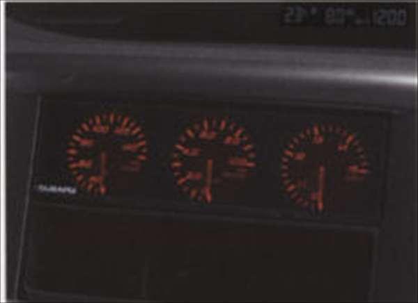 『インプレッサ』 純正 GH2 GH3 GH6 GH7 GH8 3連メーター パーツ スバル純正部品 impreza オプション アクセサリー 用品