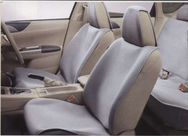 『インプレッサ』 純正 GH2 GH3 GH6 GH7 GH8 オールウエザーシートカバー(リヤ)1脚分 パーツ スバル純正部品 座席カバー 汚れ シート保護 impreza オプション アクセサリー 用品