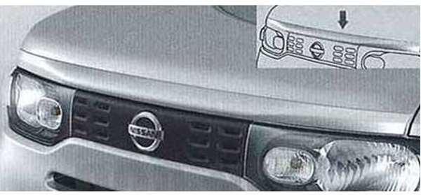 『キューブ』 純正 Z12 NZ12 フードモールディング(2) パーツ 日産純正部品 CUBE オプション アクセサリー 用品