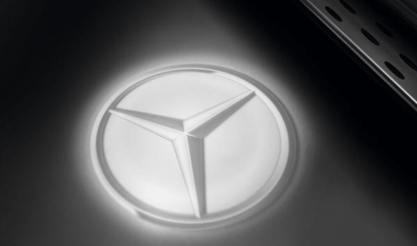 『E-class』 純正 RBA DBA LDA DLA CAA LEDロゴプロジェクター パーツ ベンツ純正部品 オプション アクセサリー 用品