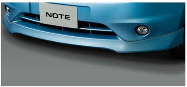 『ノート』 純正 E12 フロントプロテクター(色番号k23/kad/kh3/kah/nar/raw) パーツ 日産純正部品 フロントスポイラー エアロパーツ カスタム NOTE オプション アクセサリー 用品