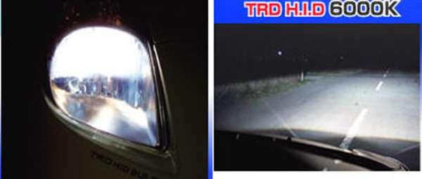 TRD HID 灯泡 (6000 K 花冠 Axio / NZE161 NZE164 NRE160 飞度乘用车大灯 (所需的一个数字)