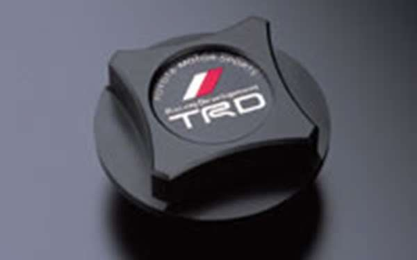 TRD オイルフィラーキャップ 樹脂製 [ MS112-00001(12180-SP031 ] カローラアクシオ NZE141 NZE144 ZRE142 ZRE144 適合 全車 (必要個数 1個)