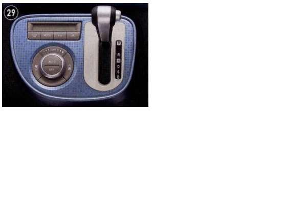 『ミラココア』 純正 L675S L685S センタークラスターパネル パーツ ダイハツ純正部品 センターパネル オーディオパネル miracocoa オプション アクセサリー 用品