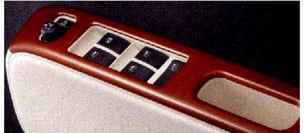 『ミラココア』 純正 L675S L685S パワーウインドゥスイッチパネル フロント2枚セット パーツ ダイハツ純正部品 ウッド 内装ベゼル パワーウィンドウパネル miracocoa オプション アクセサリー 用品