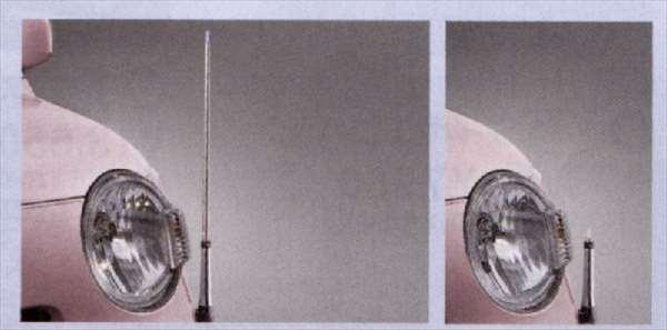 『ミラココア』 純正 L675S L685S コーナーコントロール(手動伸縮式) パーツ ダイハツ純正部品 フェンダーポール フェンダーライト miracocoa オプション アクセサリー 用品
