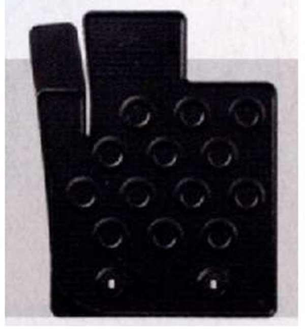 『ミラココア』 純正 L675S L685S ラバーマット(縁高) パーツ ダイハツ純正部品 ゴムマット フロアマット miracocoa オプション アクセサリー 用品