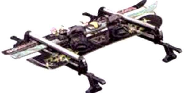『アルト』 純正 HA25S スキー&スノーボードアタッチメント パーツ スズキ純正部品 キャリア別売り alto オプション アクセサリー 用品