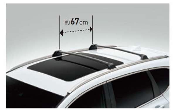 『CR-V』 純正 RT5 RT6 RW1 RW2 クロスバー パーツ ホンダ純正部品 オプション アクセサリー 用品