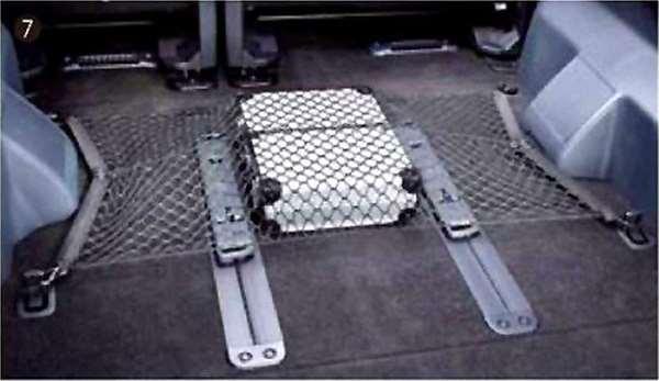 『デリカD:5』 純正 CV4W ラゲッジネット パーツ 三菱純正部品 DELICA オプション アクセサリー 用品